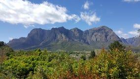 Kapsztad winnicy Południowa Afryka fotografia stock