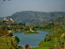 Kaptai See, Rangamati, Bangladesch lizenzfreie stockfotografie