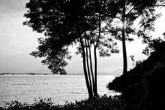 Kaptai sjö Royaltyfri Fotografi