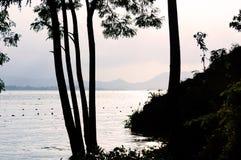 Kaptai sjö Arkivbilder