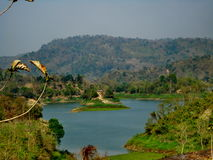 Kaptai sjö, Rangamati, Bangladesh Royaltyfri Fotografi