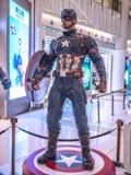 Kapten America i kapten America 3 Royaltyfri Bild