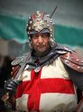 Kapten av den kristna armén Royaltyfri Fotografi