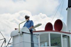 Kapten av skeppet switzerland Royaltyfri Fotografi