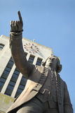 Kapten Vancouver, stad Hall Statue Royaltyfria Foton