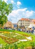 Kaptol en Zagreb fotografía de archivo libre de regalías