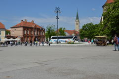 Kaptol square Stock Photography