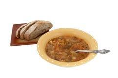 kapuściana zupę. Zdjęcie Stock