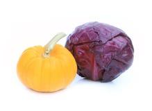kapuściany świeży dyniowy czerwony warzywo Zdjęcie Stock