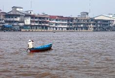 Kapuas-Fluss stockfoto