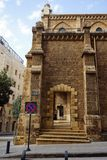 Kapucin kyrka arkivbilder