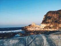 Kapurpuran, Ilocos Norte. Beutiful rock formation of Kapurpurawan in Ilocos Norte,Philippines Stock Photos