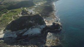 Kapurpurawan Rockowa formacja w Ilocos Norte Filipiny zbiory