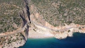 Kaputas Beach. At Antalya Turkey stock video footage