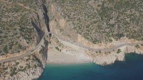 Kaputas Beach. At Antalya Turkey stock video