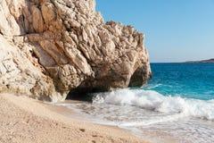 Kaputas beach, Turkey Royalty Free Stock Images