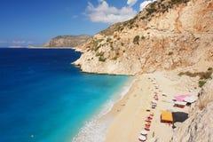 Kaputas Beach, Turkey Royalty Free Stock Image