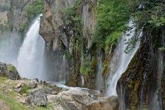 Kapuzbashi waterfall s _ Turkey Stock Images