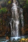 Kapuzbasi瀑布在开塞利土耳其 图库摄影