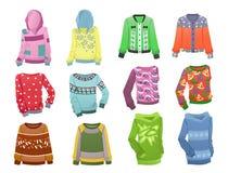 Kapuzenpullis für Mädchen Lizenzfreies Stockbild