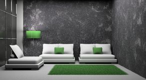 karła pokoju kanapa Fotografia Royalty Free