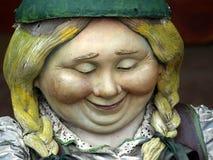 karłowata zbliżenie kobieta Obraz Royalty Free