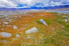 Kar jezioro w Ladakh Fotografia Royalty Free