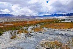 Kar jezioro w Ladakh Zdjęcia Stock