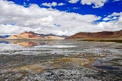 Kar jezioro w Ladakh Obraz Stock