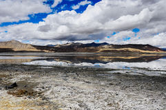 Kar jezioro w Ladakh Obrazy Royalty Free