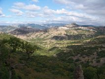 Kara Dag Crimea (Czarna góra) Obrazy Stock