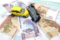 Kara dla ruchu drogowego naruszenia reguły Obrazy Stock