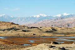 kara kul湖 图库摄影