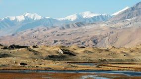 kara kul湖 库存图片