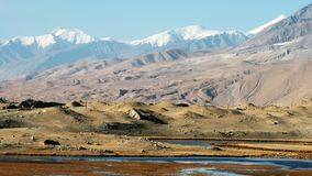 Kara-Kul meer Stock Afbeelding