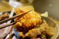 Karaage royalty free stock photography