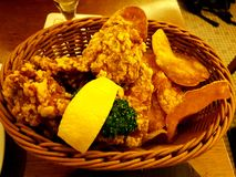 Karaage royalty free stock image