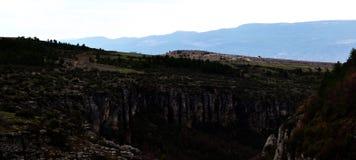Karabük in Turkiye. Karabuk province turkey canyon Stock Images
