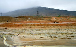 Karabash industrial desert Stock Photos