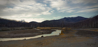 Karabash o deserto industrial Imagens de Stock Royalty Free