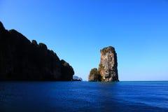 Karabi wyspa Obrazy Royalty Free