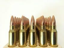 Karabijnmunitie Stock Afbeelding
