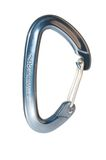 Karabiner with wire gate Royalty Free Stock Images
