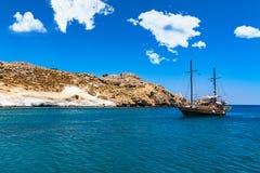 Karabl kust Royaltyfri Fotografi