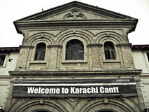 Karachi Cantt Stock Photo
