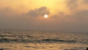 Karachi evening Seaview beautiful Royalty Free Stock Images