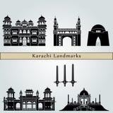 Karachi Landmarks Stock Images