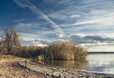 Karachunovskoe reservoir Stock Images