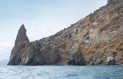 Karadag berg Arkivfoton