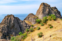 Karadag national park, Ukraine Royalty Free Stock Photography